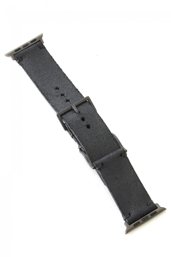 Apple Watch Band - Guidi Calf Reverse Leather - Brass Type 1