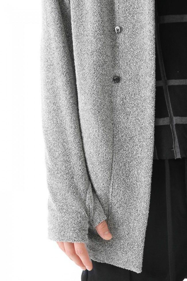 The Viridi-anne - Boucle Pile Long Cardigan