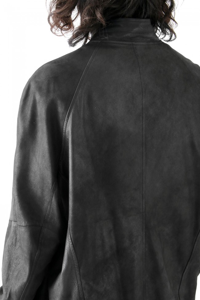 SEAMED BOMBER JACKET