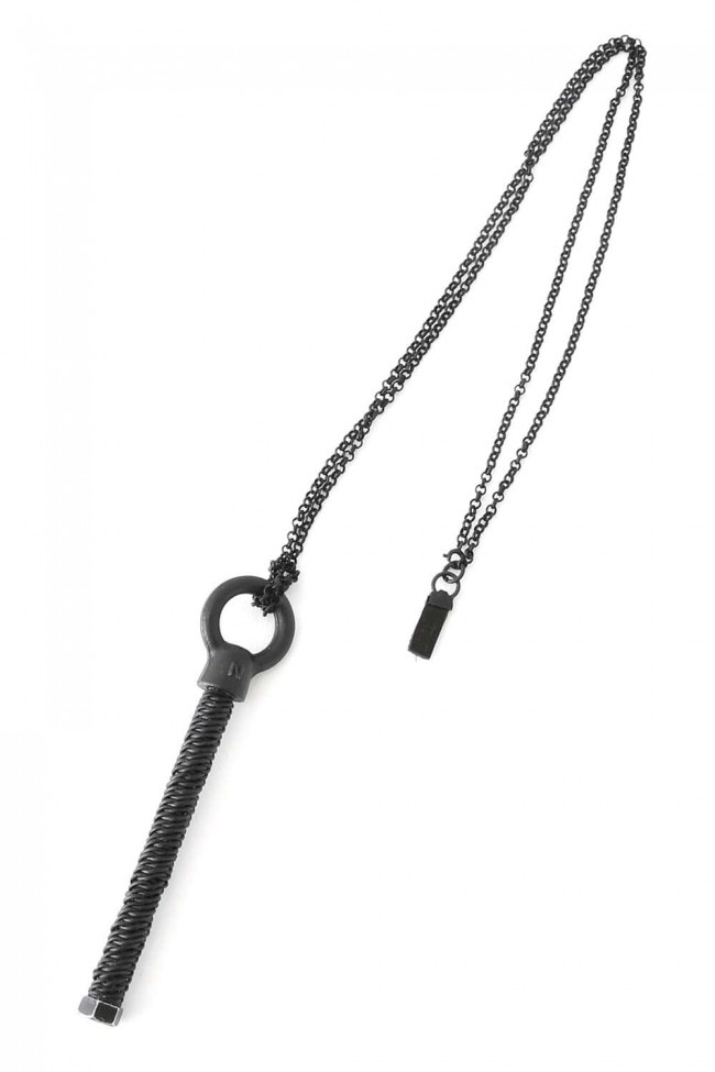 Braiding Bolt Necklace