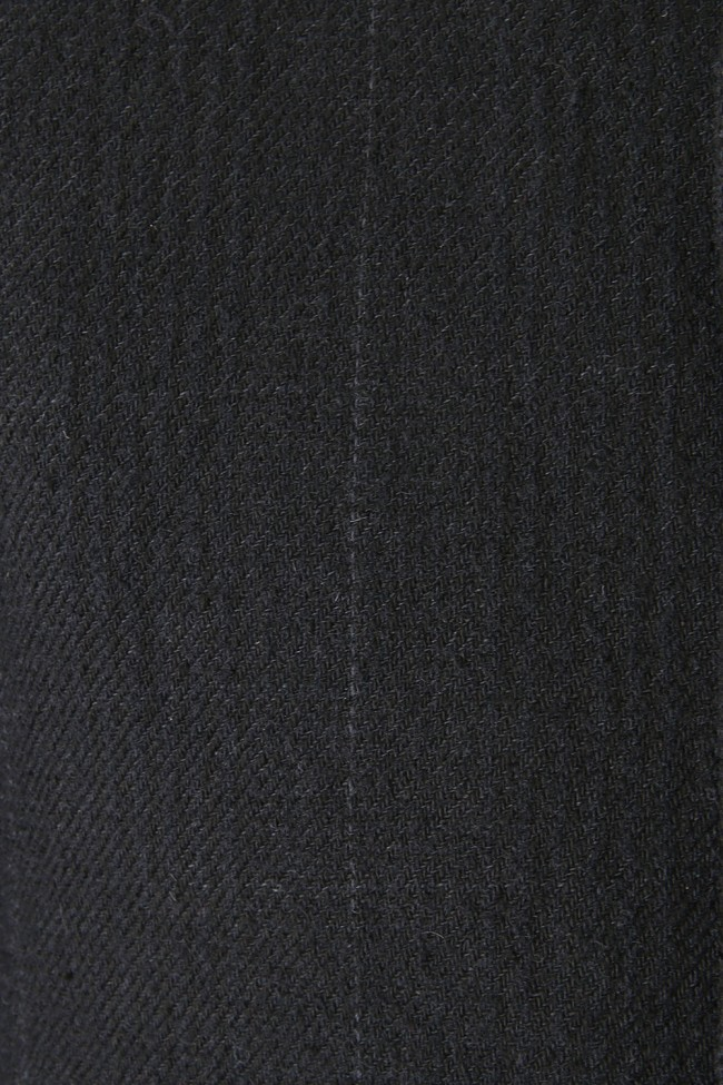 Coat Silk Linen Wool Stripe