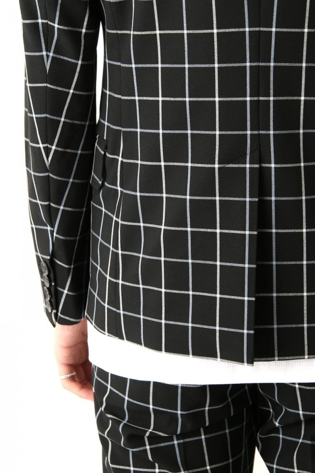 Tattersall Check Stretch 2B Jacket