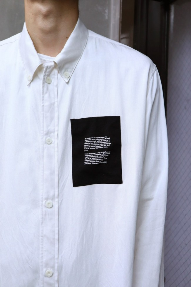 DRAWCORD LONG SHIRT Off