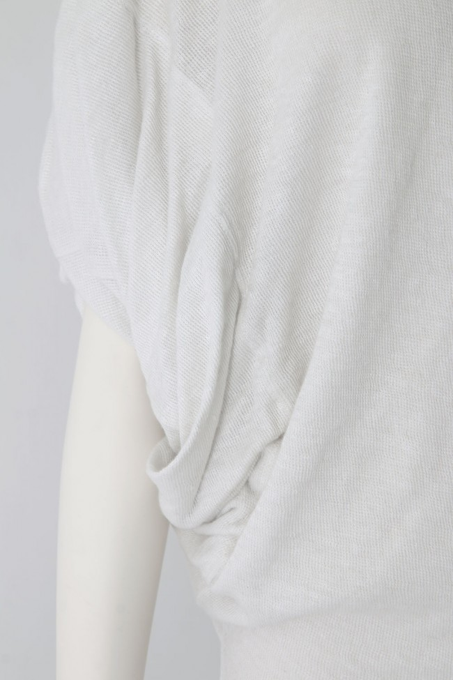 Linen Cotton Double Knit T-shirt - DK11-CS06-T01