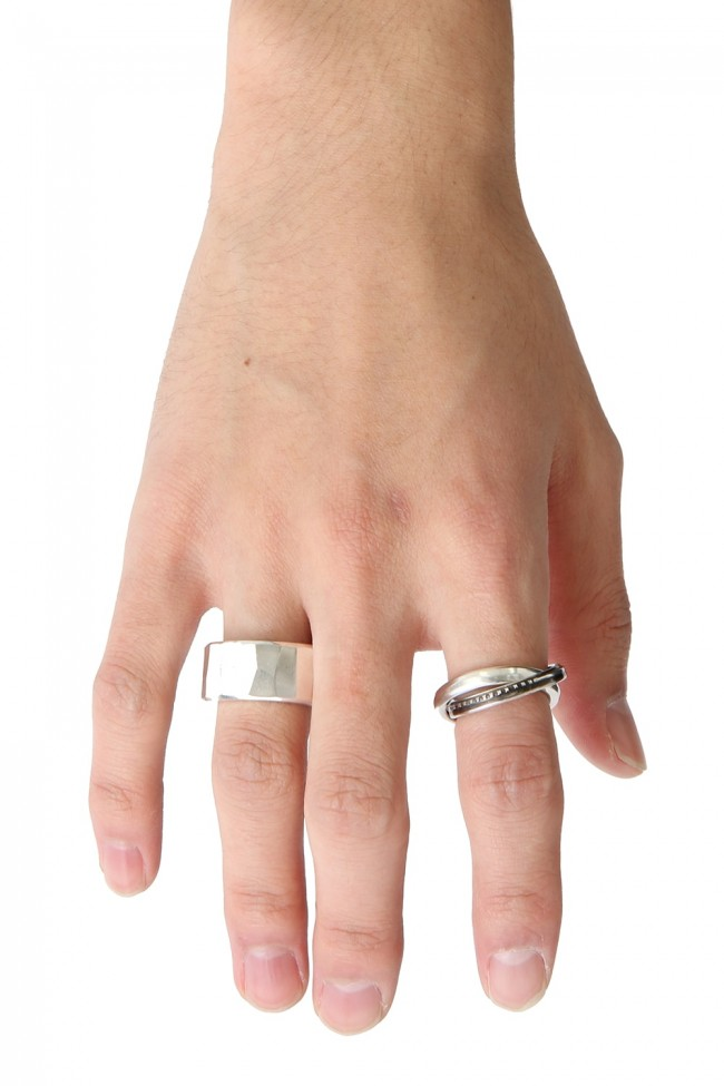 Ring Rough Hammered
