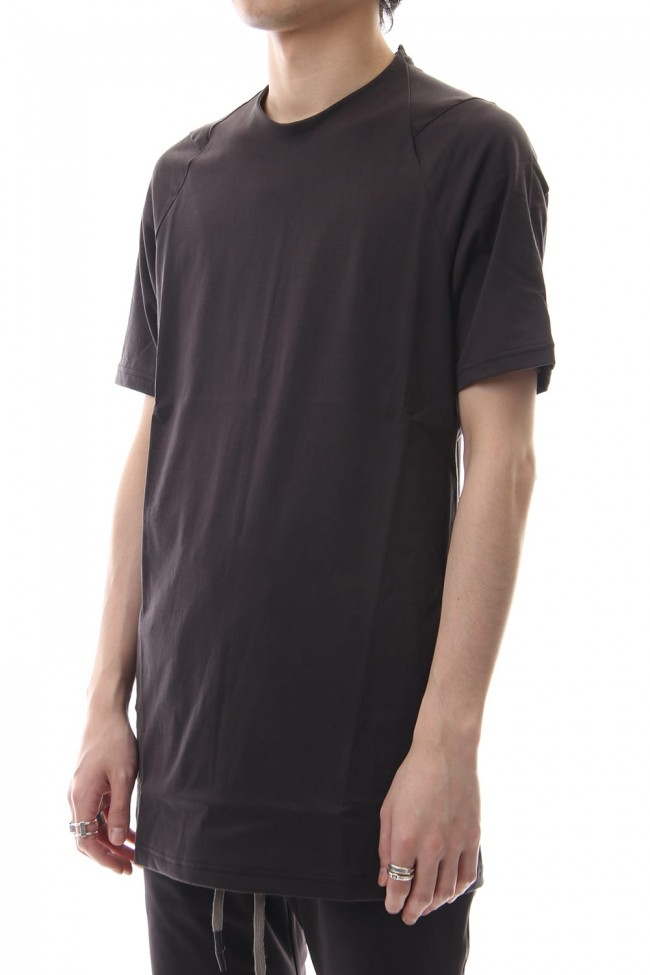 Short sleeve 2/80 Cotton jersey Regular fit - Purple Gray