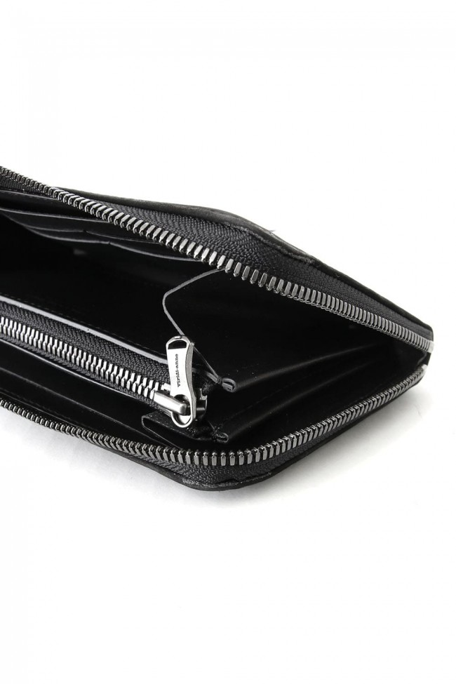 The Viridi-anne - Calf Leather Long Wallet