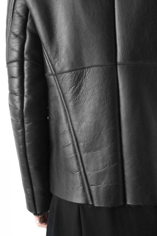 Exclusive Mouton jacket (Mat coating)