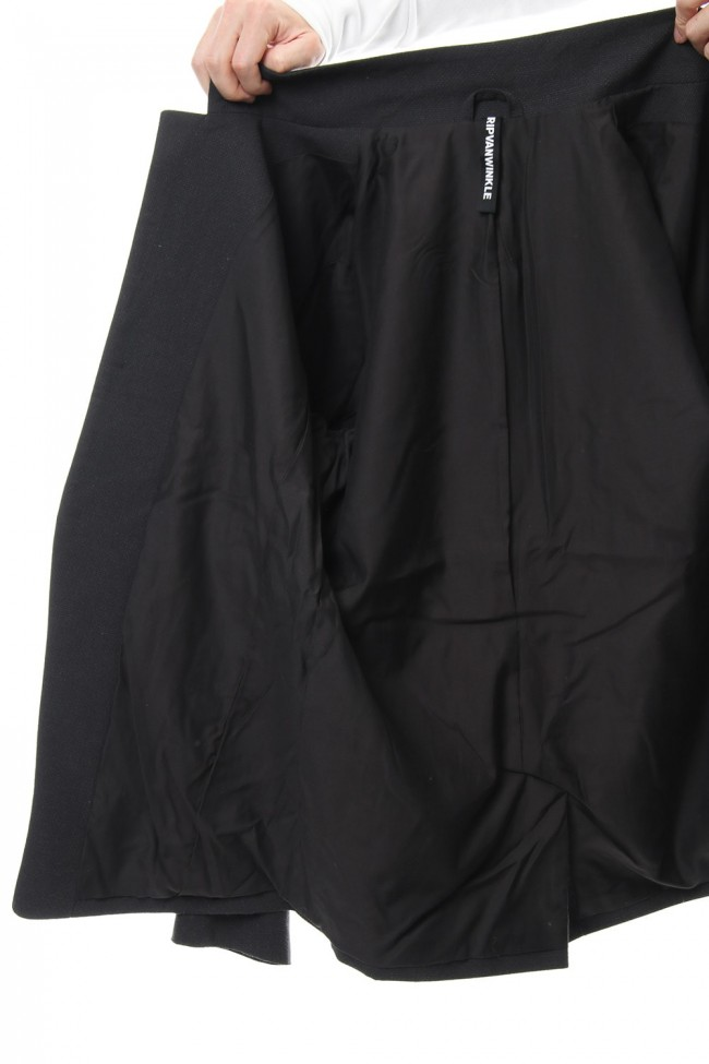 Dobby Pin Head Draping jacket RB-023 CB.Black