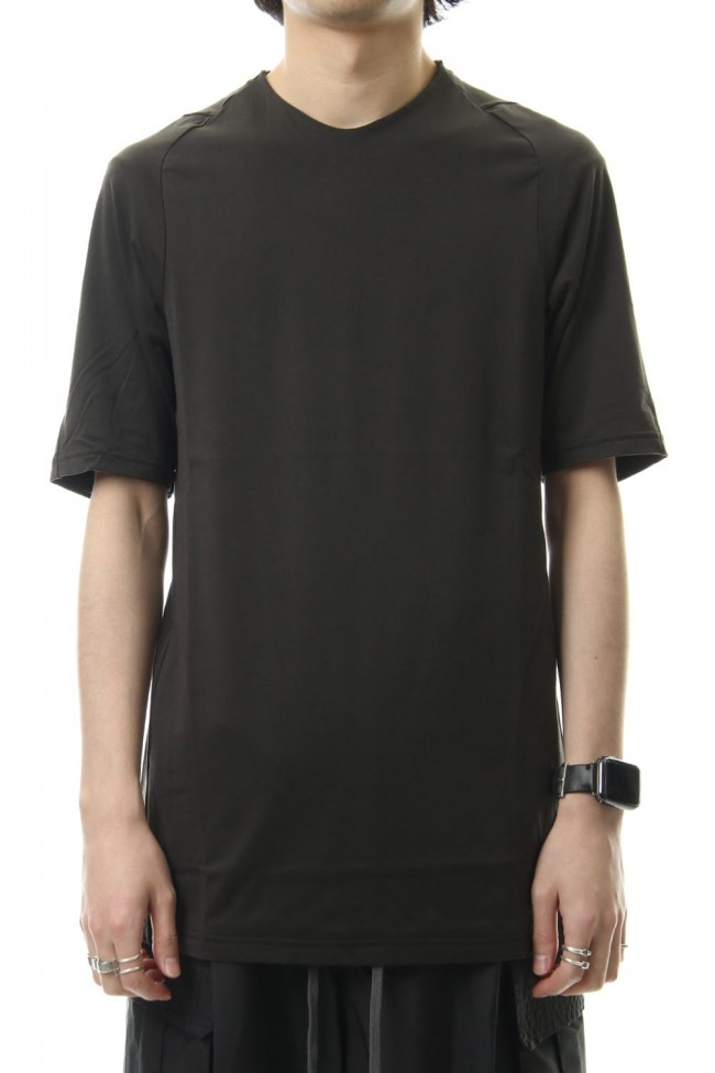 Short sleeve Indian cotton jersey ( SUVIN ) - Grape Gray