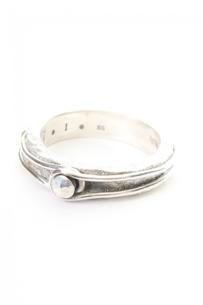 Pin Studded Wire Ring - io-01-130