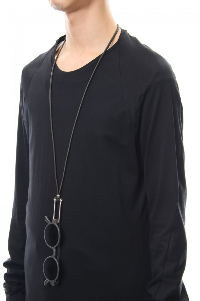 Spectacle holder necklace - io-03-084 Black