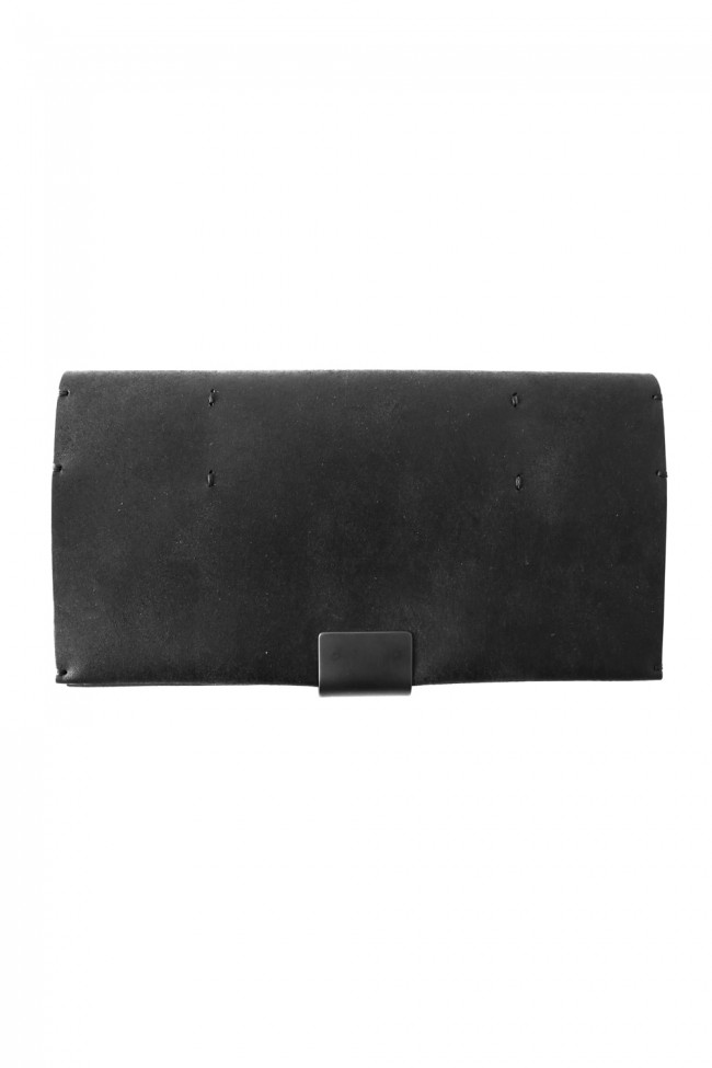 Cow Leather Long Wallet-B