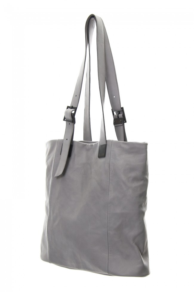 Leather Tote Bag Small io-08-009-Small