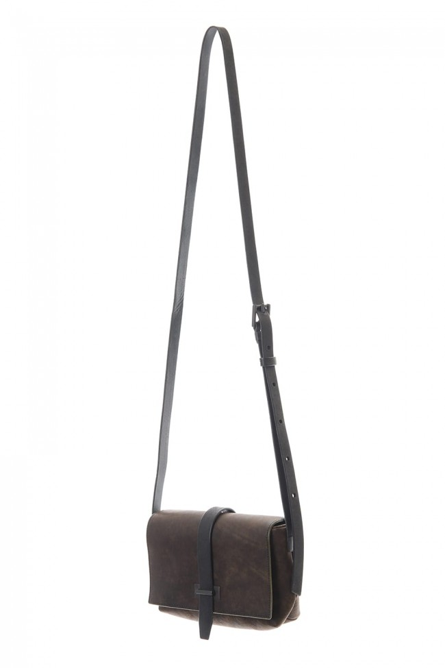 Oblong Mini Shoulder Bag - A - Smeraldo