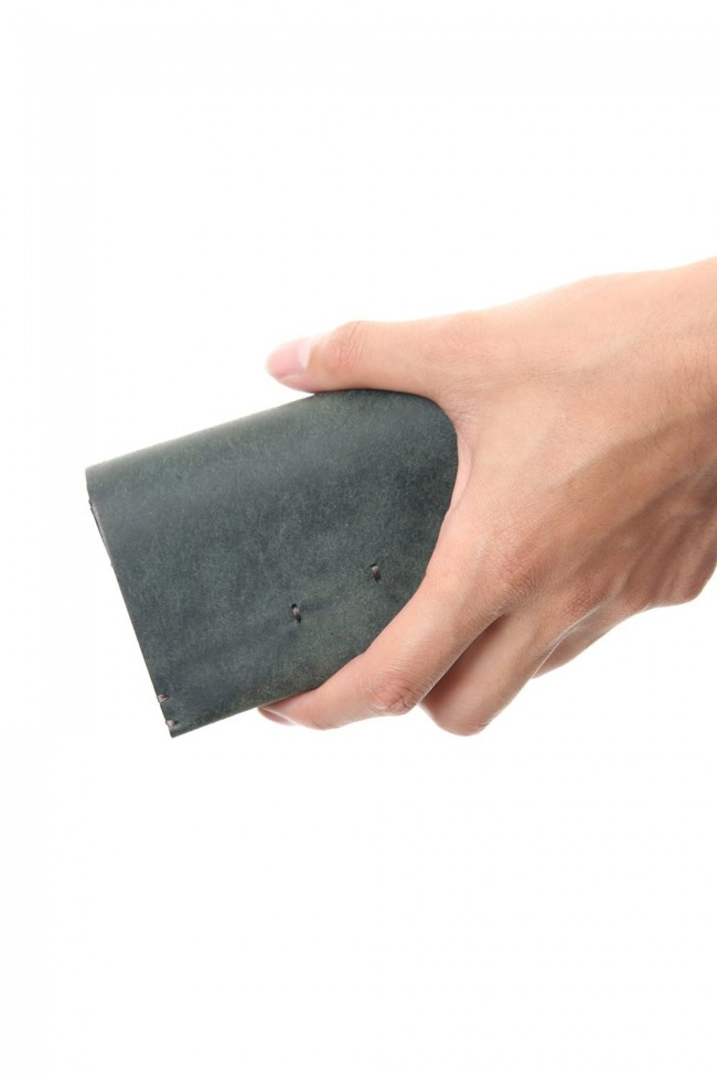 Camel Leather Coin Case