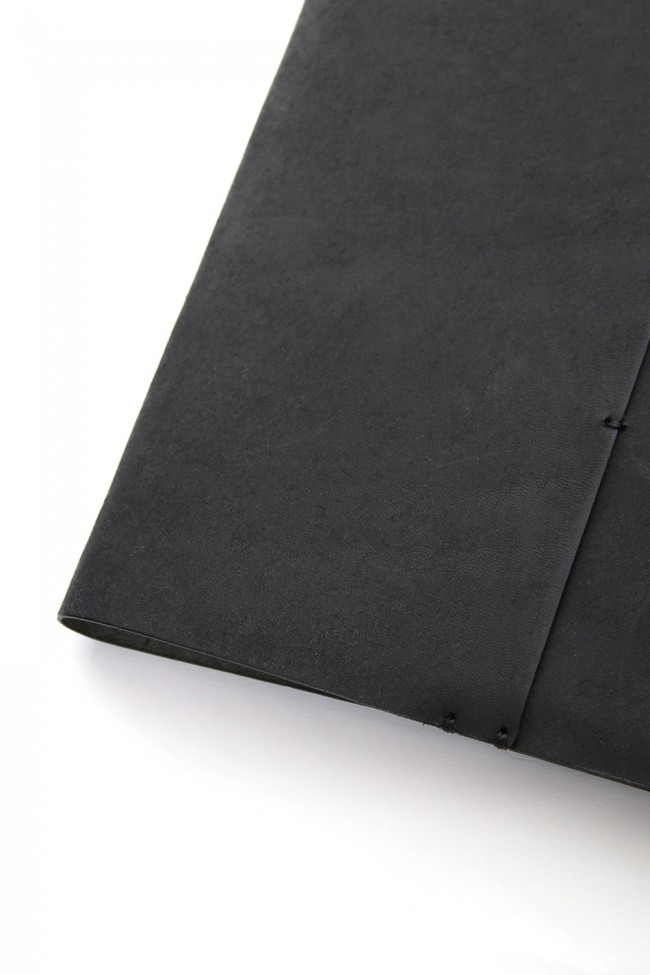 Crane Book cover with note B5 size - io-09-028 Black