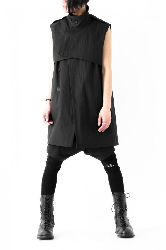17SS Deformed Gun Flap Trench Vest