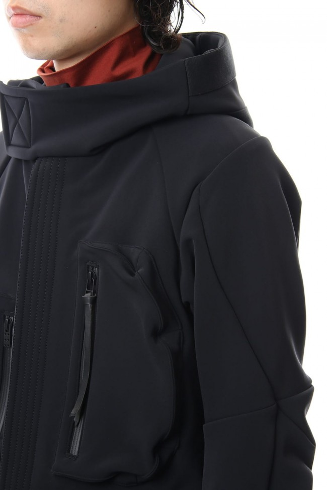 Schoeller Cork Shell 4way Stretch Hood Jacket