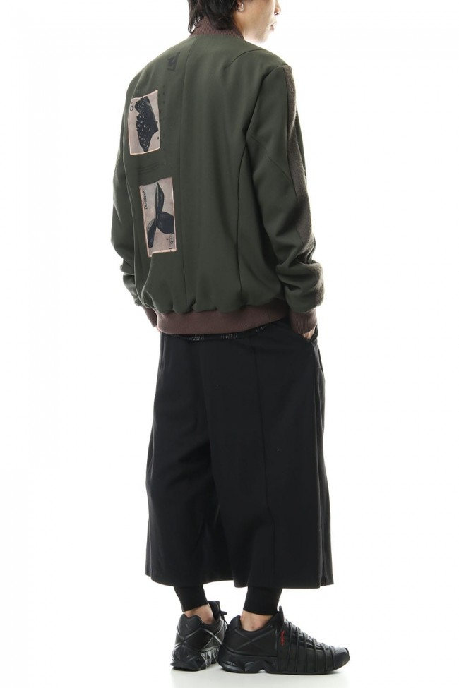4 Way Stretch Wool Blouson