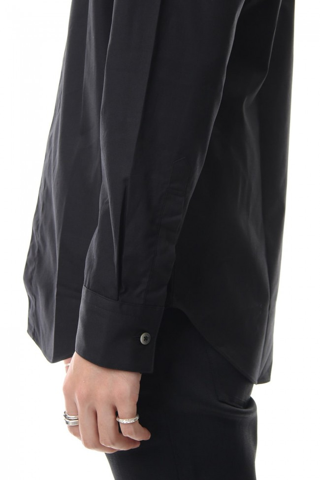 BROADCLOTH BUTTON DOWN SHIRT Black