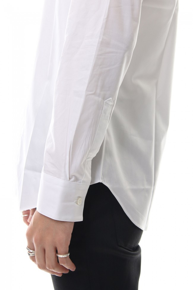 BROADCLOTH BUTTON DOWN SHIRT White