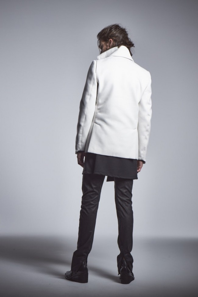 Napoleon Jacket Smoke White