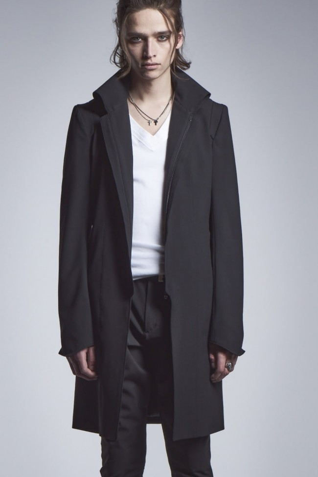 Stand Collar Shoulder Jacket