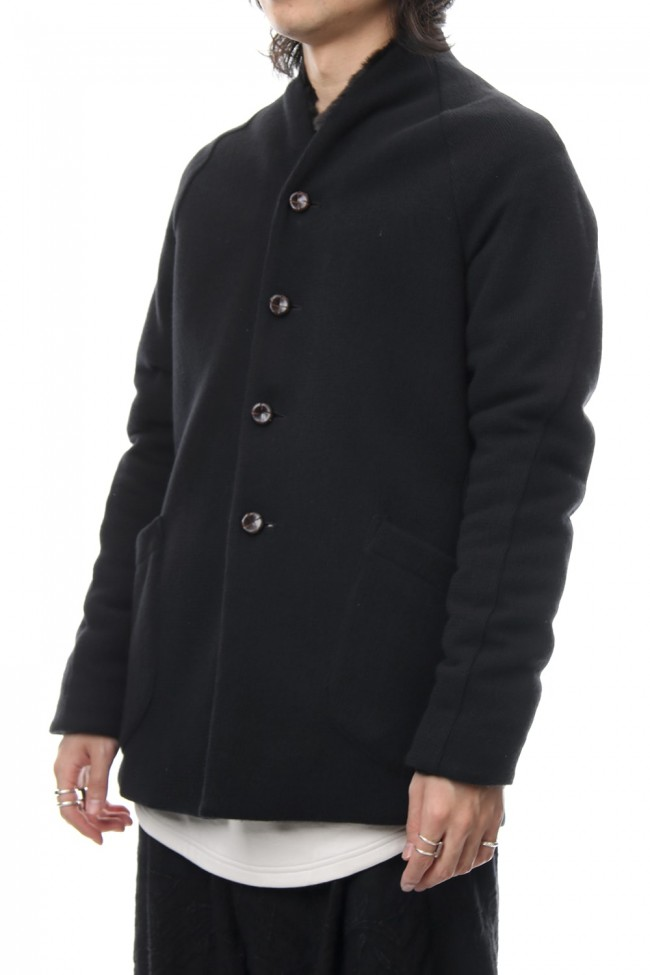 FASCNATE Limited Coat Winton Wool / Cashmere & Rex Rabbit Fur