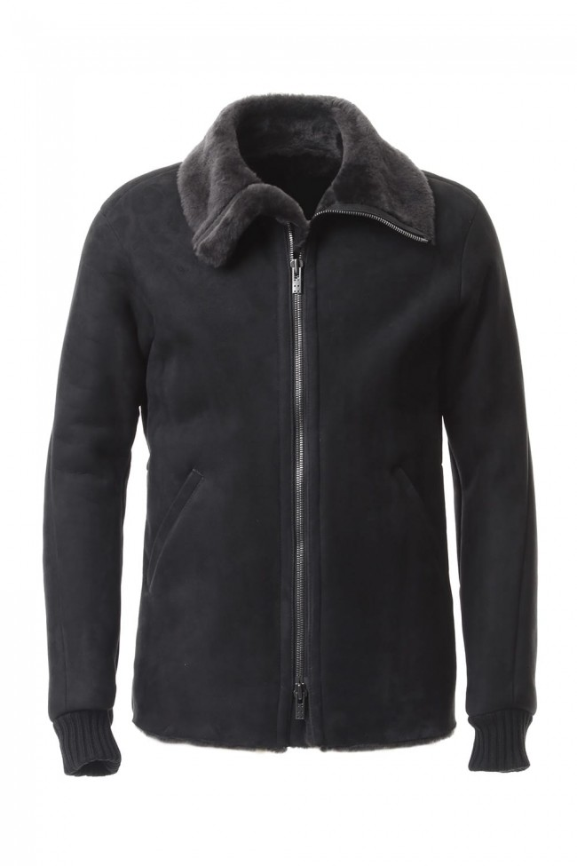 Entrefino Type Mouton jacket