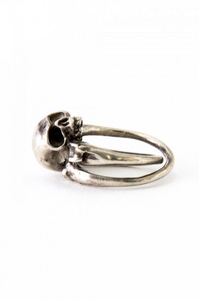 Cross Ring Bones+Skull