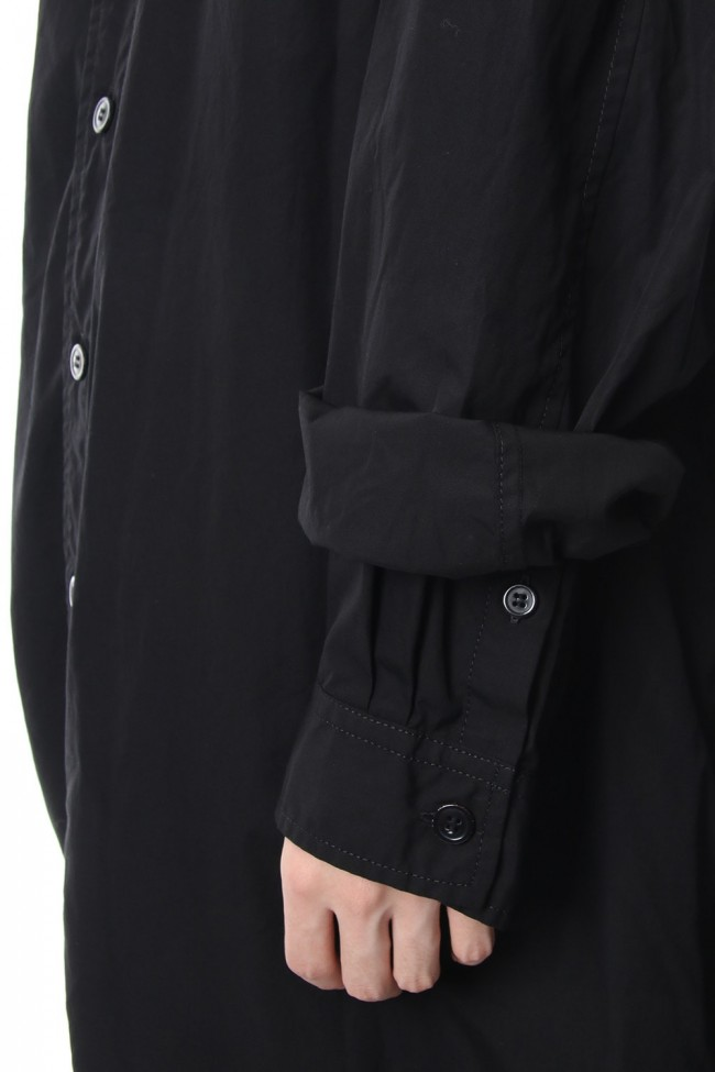 100/2 Layered shirt coat  NV-C55-001