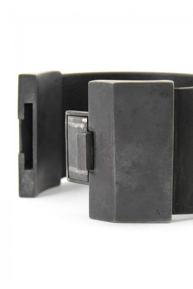 Parts of Four  16AW BOX LOCK BRACELET (WIDE)