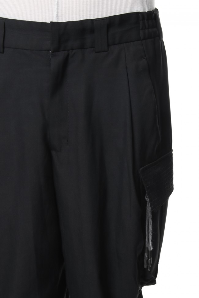 Cropped Pants High Density Silk