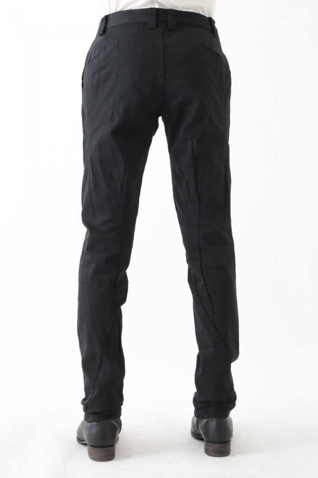 Slim Pants Black x Black Denim