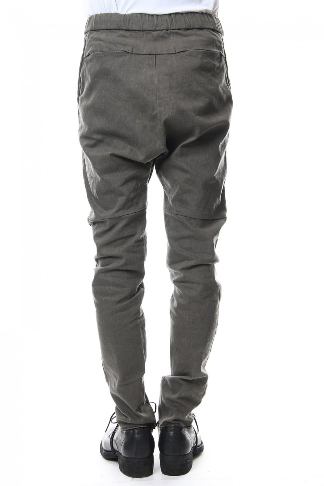 Drill Slab Stretch Oli Paraffin Motorcycle Pants RB-046 Army Brown