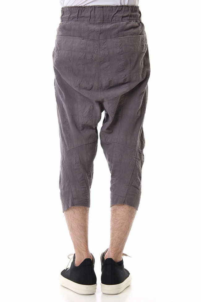 CROPPED PANTS Gray