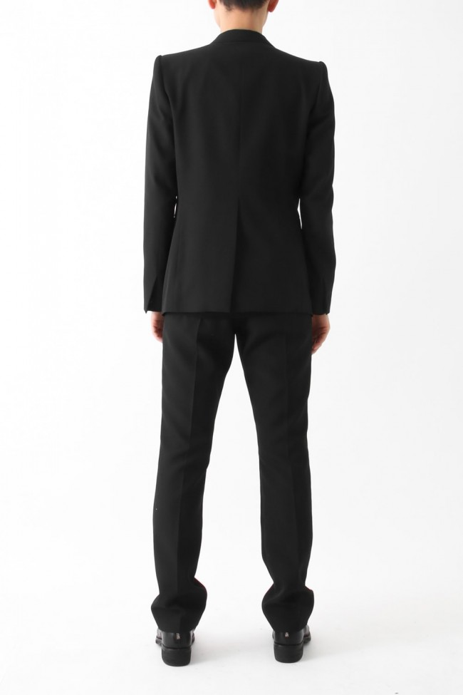 Slim Straight Trousers