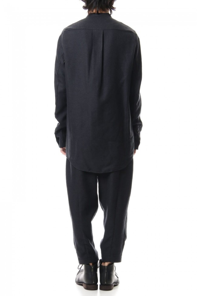 Long Shirt virgin wool / silk