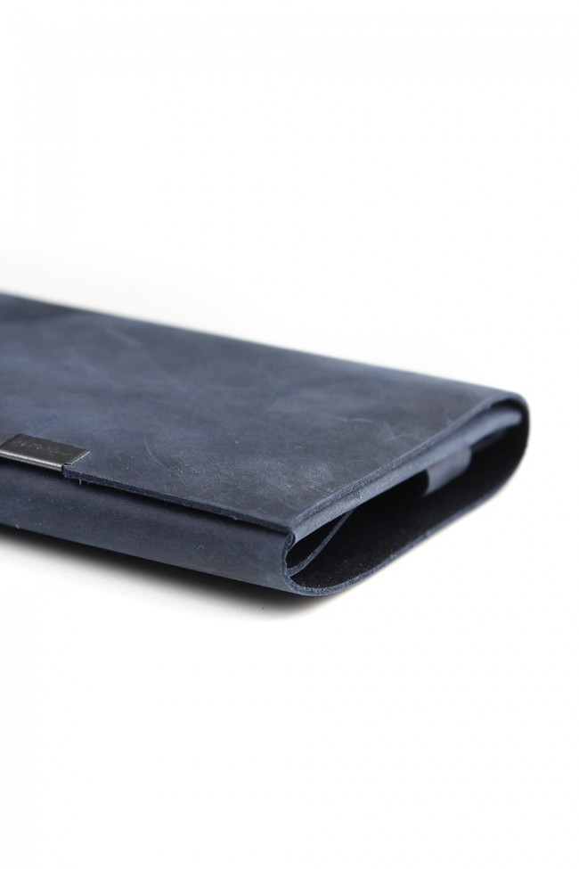 No,No,Yes!  - shosa - Long Wallet Oil Nubuck Navy