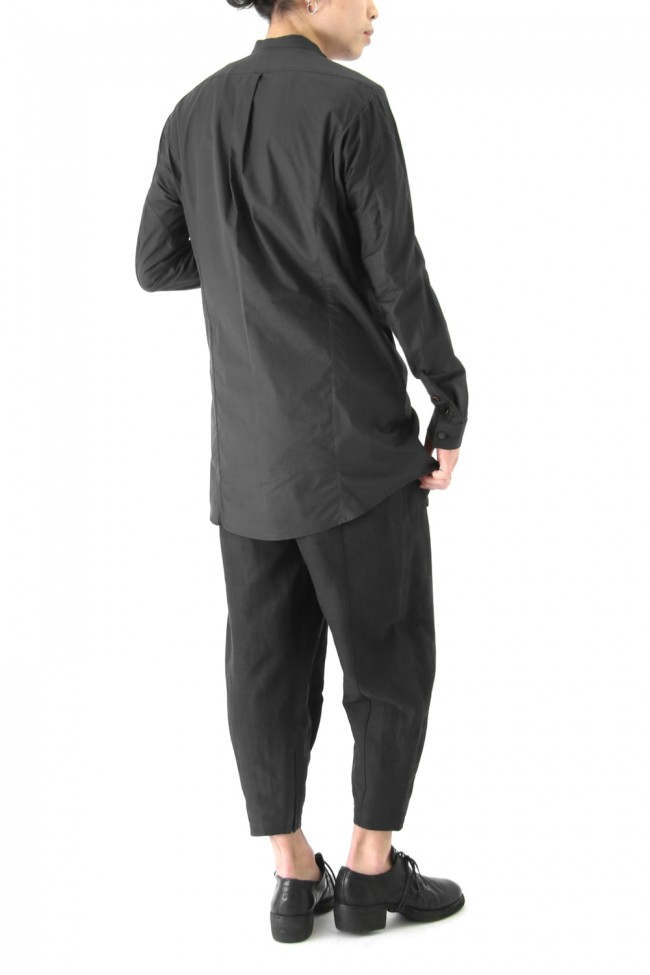 Long Shirt MAHARANI Cotton (Indian Hybrid Cotton) Charcoal