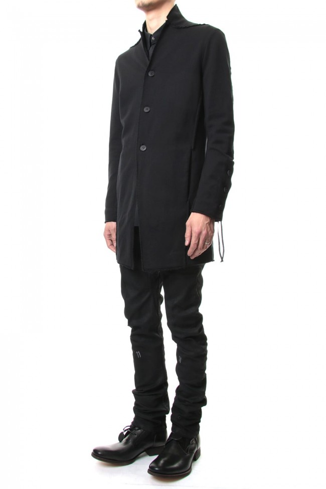 Medium Heavy jersey long cardigan - ST101-0019S