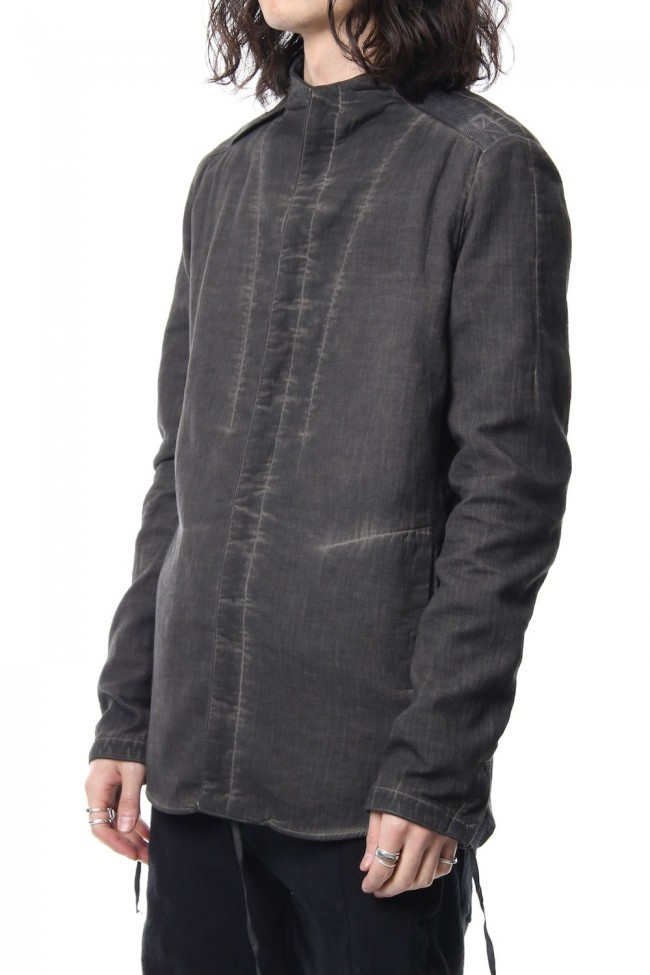 Double weave twill cold dyed shirt Jacket