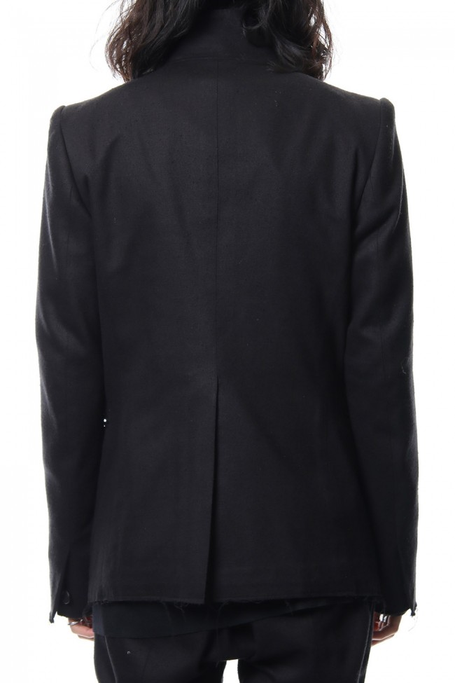Silk Twill Tailored Jacket