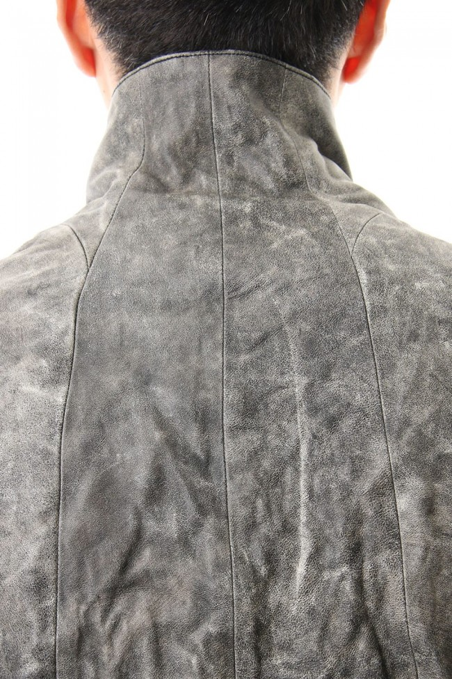 Destroy dyed Horse leather jacket - ST105-0049A