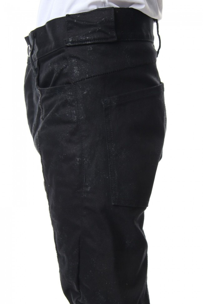 Dirty coating curve slim pants - ST107-0059S
