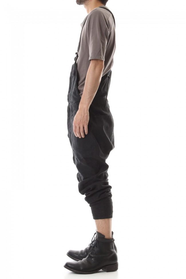 Heavy Canvas Tapered Cropped Overall
