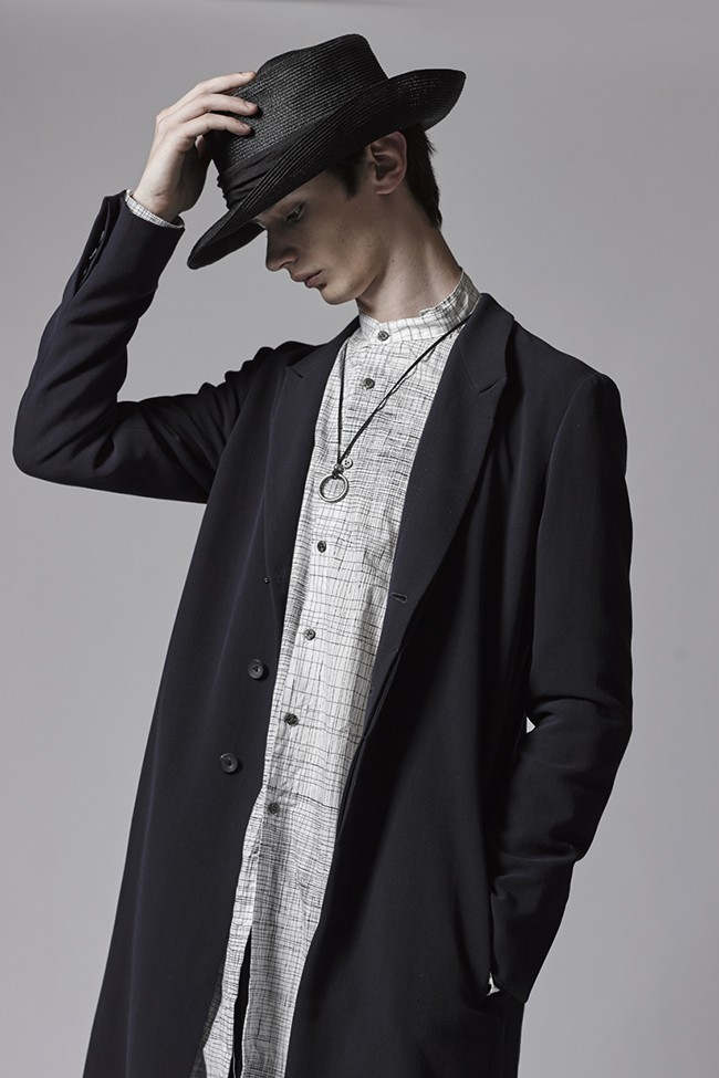 17SS Double Cloth Long Jacket