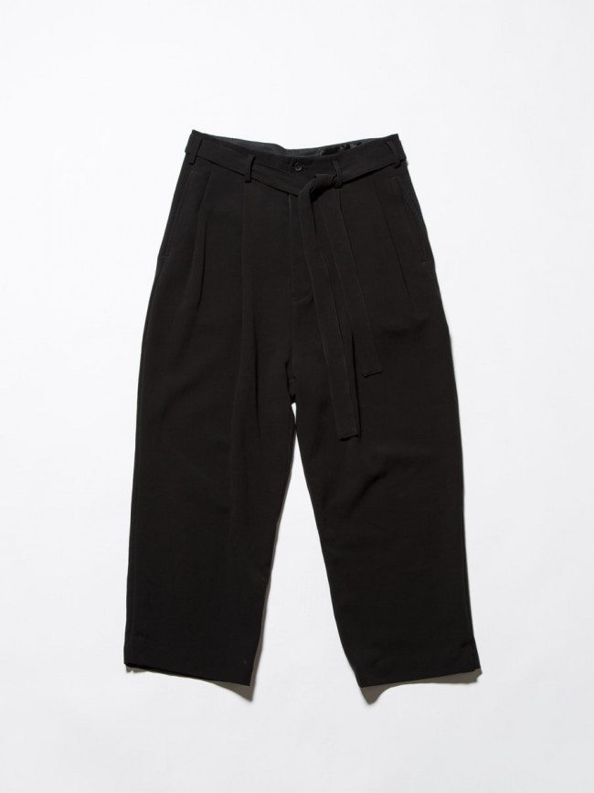 17SS Double Cloth Wide Pants
