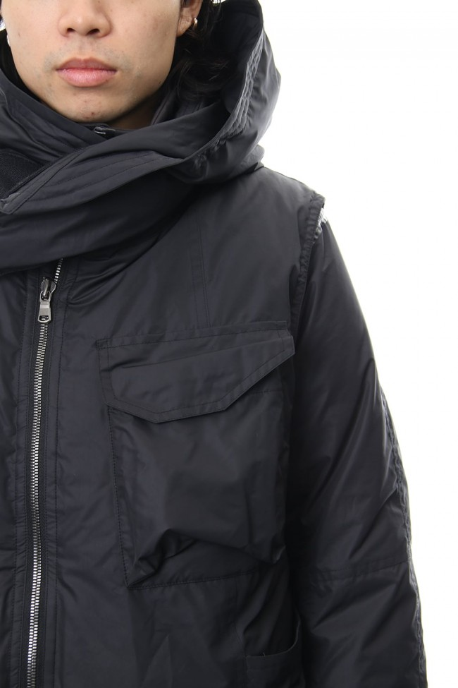 Layered Down jacket